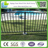 4ft Height Elegant Galvanized Ornamental Iron Fence Panel