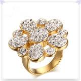 ステンレス鋼の宝石類の女性の宝石類の方法リング(SR339)