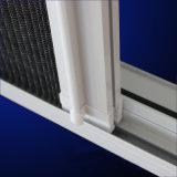 Finestra di alluminio della tenda di profilo di colore bianco rivestito della polvere di alta qualità con lo schermo Kz028
