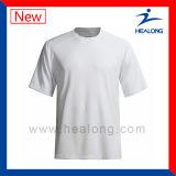 Healong는 Breathable 평야 커트를 주문을 받아서 만들고 t-셔츠를 꿰맨다