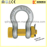 Drop Forged Bolt Type Chain Shackle Fabricants