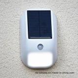 Kleiner hoher heller PC automatische Bewegungs-Fühler-Solarwand-Lampe