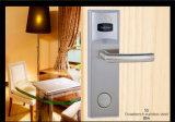 Fechamento de porta do hotel da chave de cartão de V62001-RF-Ss RFID com chave da ultrapassagem