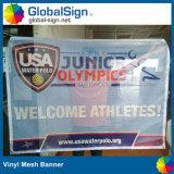 Impressão digital Vinil Fence Mesh Banner Giant Building PVC Mesh Banners