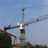 Matériel de construction de 5610 de dessus plat à tour de la grue 6ton tours de grue