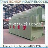 Machine simple de vapeur de générateur de vapeur de chaudière à vapeur de tube de l'eau et d'incendie de tambour de haute performance