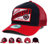 O OEM personaliza o tampão do chapéu da parte traseira do engranzamento do camionista do desempenho do bordado