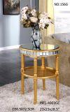 Nuova tavola rotonda con lo specchio d'argento per l'hotel