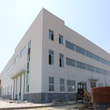Construção de construção de aço pré-fabricado de metal industrial com baixo custo