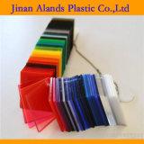 Types clairs colorés feuille acrylique de l'espace libre PMM