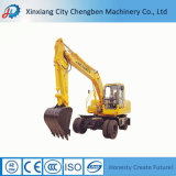 掘削機の部品が付いている構築によって使用される車輪の掘削機の小型坑夫