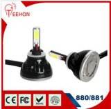 Bulbos do diodo emissor de luz de Hight Quanlity 6000k 2*24W, base: 880/881