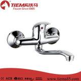 Faucet стены раковины латунного тела 40mm однорычажный (ZS50506)
