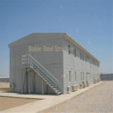 Metallvorfabrizierte bewegliche Pole-Stall-Installationssatz-Stahlgebäude für Verkauf