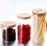 Vasi di vetro materiali ecologici dell'alimento di immagazzinamento in il vaso del commestibile