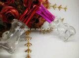 Бутылка дух новой конструкции типа стеклянная с изготовленный на заказ крышкой