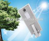 고명한 작풍 1개의 품질 보장 옥외 LED에서 통합 힘 15W 태양 LED 가로등 전부