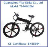 リチウムマグネシウムの合金の車輪が付いている電池式の電気山の自転車