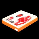 Do isqueiro vermelho de alta qualidade do cortador do cinzeiro de Lubinski terno ajustado do charuto (ES-LI-008)