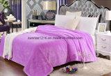Cobertor macio super da flanela do cobertor Sr-B170211-12 do velo do cobertor do Waffle