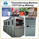 Thermoforming 기계 (2개의 선) 형성 만드는 플라스틱 컵을%s 형