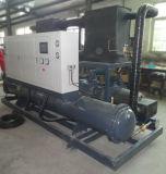 Refrigeratore di acqua raffreddato ad acqua della vite del sistema & refrigeratore di acqua