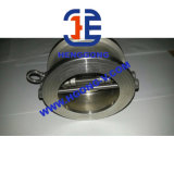 Clapet anti-retour de ressort d'API/DIN/JIS de disque de renvoi industriel d'acier inoxydable non
