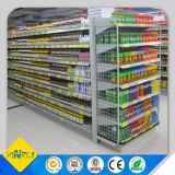 Équipement d'affichage de supermarché Porte-étagères