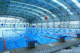 Олимпийская стандартная основа плавательного бассеина кроет кирпичи черепицей