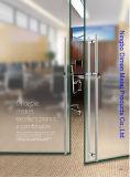 Het Handvat van de Deur van het Glas van het Roestvrij staal van het Type van Dimon H met Slot DM-DHL 030