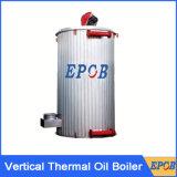 Chaudière thermique verticale de pétrole pour l'industrie