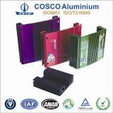 Perfil de alumínio personalizado para o sistema de alta fidelidade do carro com vário revestimento