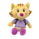 柔らかいおもちゃの動物の子供のためのトラによって詰められるプラシ天のおもちゃ