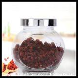 Ovales Glasglas/Tee-Glas/Kräutermedizin