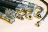 En853 1sn 2sn, tuyau hydraulique tressé de fil de SAE100 R1 R2at