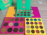 El lugar Nubian 16&12 del Juvia más caliente colorea la gama de colores del sombreador de ojos del maquillaje