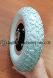 力の車椅子の前部車輪(200*50)のための平らで自由なPUの車輪
