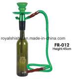 Narghilé unico della bottiglia di vetro del vino dei kit di Shisha di disegno