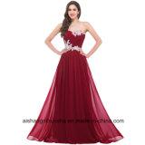Perlando o vestido da dama de honra do vestido do baile de finalistas do querido do Assoalho-Comprimento dos Sequins