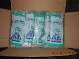 Перчатки стандартного зеленого нитрила Европ химически промышленные (DHL445)