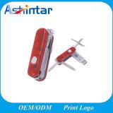 Métal USB Pendrive de carte mémoire Memory Stick de la forme USB de couteau d'armée