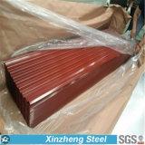 Гальванизированный стальных материал толя 0.14mm Китая листов/рифленых листов