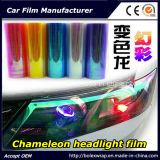 Film de phare de caméléon de mode, film de teinture léger 30cm*9m de véhicule de caméléon