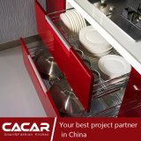 Keukenkast van de Lak van de Vernis van het Stoven van Carnaval de Moderne Modieuze Rode (CA14-13)