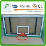 Panneau de verre de basket-ball Tempered/panneau durci en verre de basket-ball