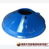 La Cina ha personalizzato le parti del frantoio del cono delle parti del macchinario minerario