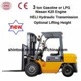 3 Tonne Forklift Price für Nissans Engine (Gas oder LPG)