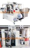 A máquina de envolvimento do tecido limpa a máquina de embalagem do tecido