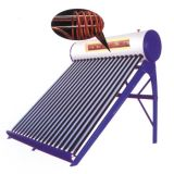 Pré-aquecendo o calefator de água solar compato com bobina do tanoeiro