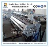 La hoja que cubre esmaltada compuesta ahorro de energía del PVC PMMA ASA embaldosa la línea equipo de la protuberancia de producción de máquina